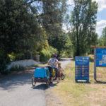 La voie bleue : alternative sécurisée à la Via Rhôna vers Valence