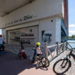 A vélo sur les bords du Rhône en Ardèche