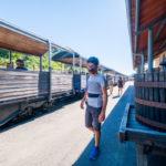 Voyage à vélo en Ardèche entre train et voie verte