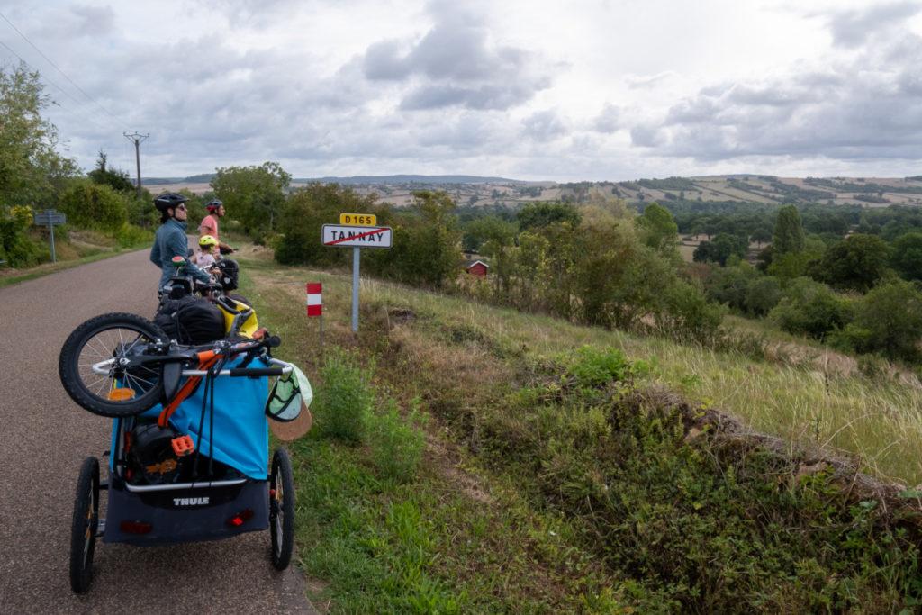 Echappée à Tannay depuis le canal du Nivernais